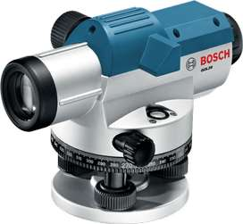 nivel óptico Bosch 26D y trípode Bosch DT160.