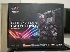 BOARD ASUS ROG STRIX B450F GAMING RYZEN 3GEN NUEVA RGB