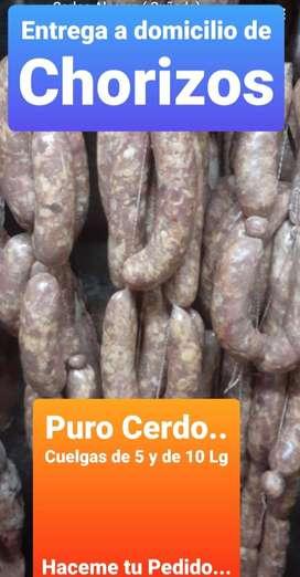 Chorizos- Puro Cerdo/Especiales