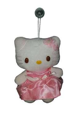 Muñeca Hello Kitty Con Sopapa Para Colgar 18 Cm De Altura