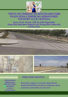 Venta de Terreno Boulevard Park Plaza