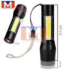 Mini Linterna Led Recargable Zoom Largo Alcance 511