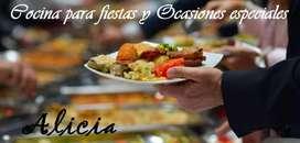 Servicio de catering y buffet para sus banquetes, fiestas y eventos.