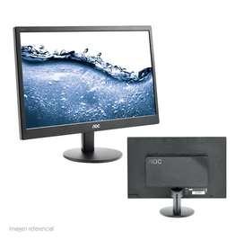 Monitor AOC E2070SWHN Monitor AOC 19.5 E2070SWHN 19.5″, 1600 x 900, HDMI / VGA. monitor de 19.5