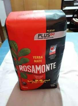 Ofertón de yerba mate Rosamonte