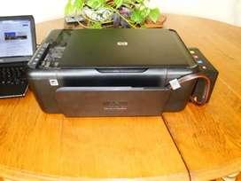 Impresora hp 4480 multifuncional con sistema continuo