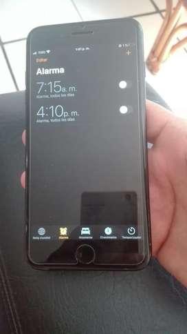 Iphone 7 plus negro de 128 gb