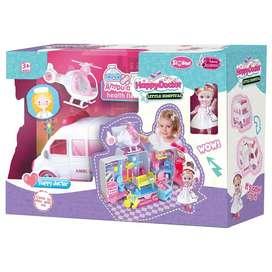 Ambulancia infantil para niñas