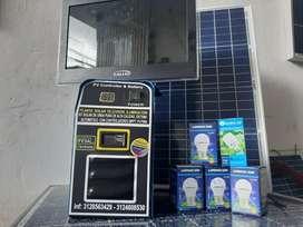Kit solar 170 WD panel 50 W 170vatios de acumulación día