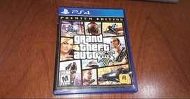 Gta 5 Ps4 Premium Edition Original Fisico