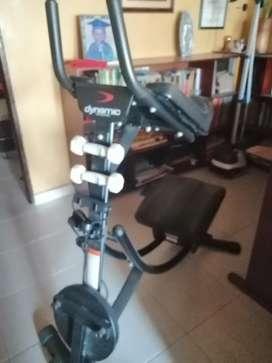 Vendo 2 maquinas de ejercicios