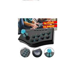 Joystick de juego Arcade USB Rocker controlador para PS2/PS3/Xbox PC TV Box portátil