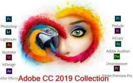 Adobe Suite 2019 / Windows 10  Todos Los Mac