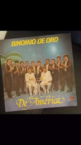 DISCO BINOMIO DE ORO PARA COLECCIONISTAS