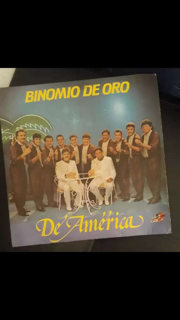 DISCO BINOMIO DE ORO PARA COLECCIONISTAS 0