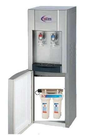 dispensador / surtidor en acero inoxidable con purificador de agua 3 etapas