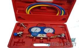 Manómetro para aire acondicionado