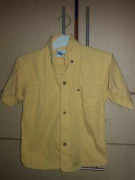 Camisa Miguelito talla 4 usada