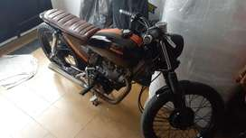 Vendo Honda Cg Today japonesa / brat style - cafe racer
