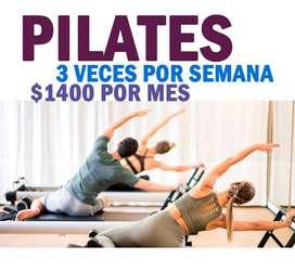 Clases de Pilates en Camilla