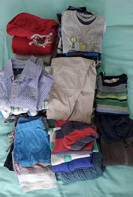 Lote de ropa 2 a 4 años