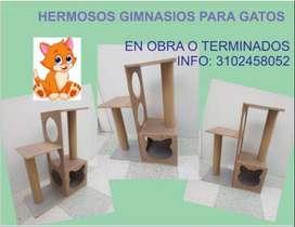 Diseñamos y fabricamos gimnasios para gatos