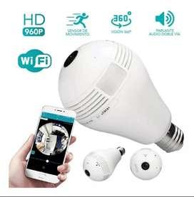 Cámara De Seguridad Bombillo Wifi 360 Grados Full A&C TEGNOLOGY BOGOTA D.C