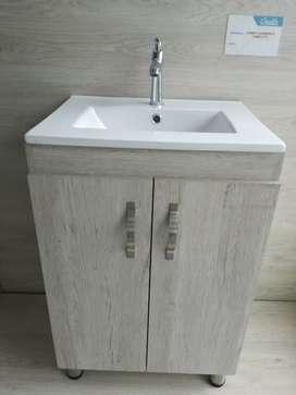 Mueble madera RH para lavamanos + lavamanos