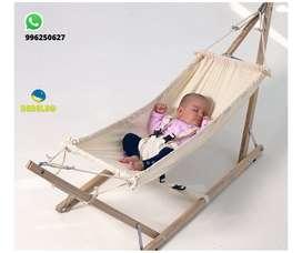 mini hamaca para bebe