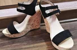 Zapatos Sandalias Taco cuña