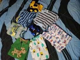 Lote pijamas de niño Carter's talla 4