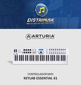 CONTROLADOR MIDI KEYLAB ESSENTIAL 31