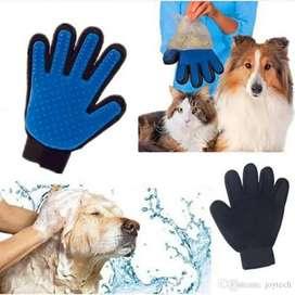 Guantes saca pelos para mascotas