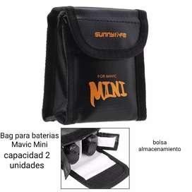 maleta estuche bag 2 baterias dji mavic mini