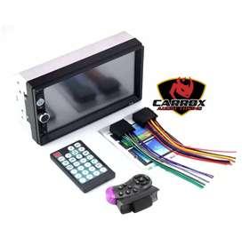 Autoradio Bluetooth pantalla táctil de 7 pulgadas control de volante