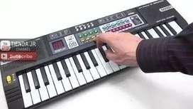 Organeta Electronic Keybo Para Niños Piano Pantalla Lcd Usb