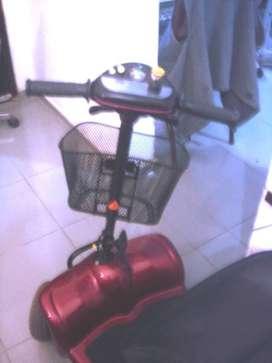 Scooter Electrico 4 Ruedas, Sterling, Ortopedico Plegable.