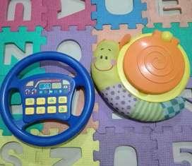 Juguetes infantiles didácticos funcionales