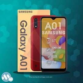 Samsung A01 16GB Smartphone Teléfono Celular
