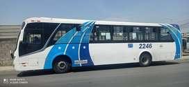 Vendo bus Mercedez Benz  17-21 año 2019, se vende xon ruta y puesto