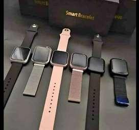 Reloj  Smart watch T80 con doble pulsera