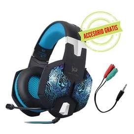 Diadema/ Audifonos Kotion Each G1000 /Azul