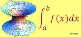 Clases de Analisis Matemático I,II,III,IV y metodos numericos para ingenierias