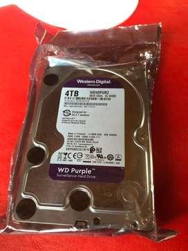 Vendo Disc Rigido WD purple 4tb