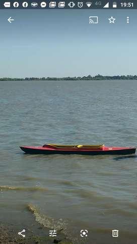 Kayak de fibra de vidrio, Doble