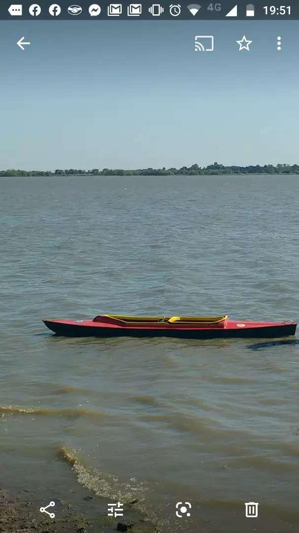 Kayak de fibra de vidrio, Doble 0