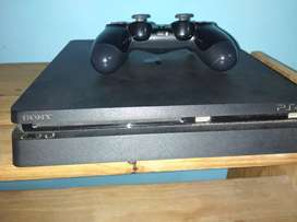 PS4 Slim 500gb + juegos fisicos y digitales