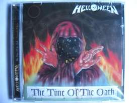 helloween the time of oath 2 cd sellado