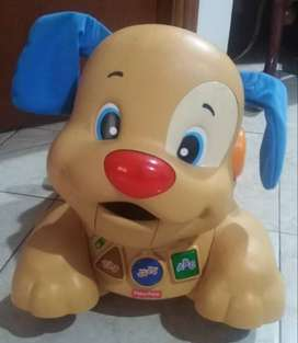 PERRITO CAMINA CONMIGO DE FISHER PRICE INGLES