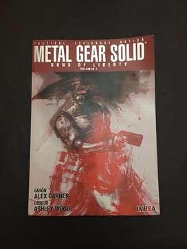 Revista comic Metal Gear Solid